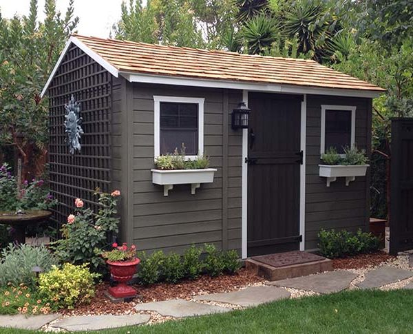 Making the most out of your garden shed